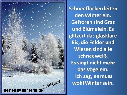 Winter Gaestebuchbild